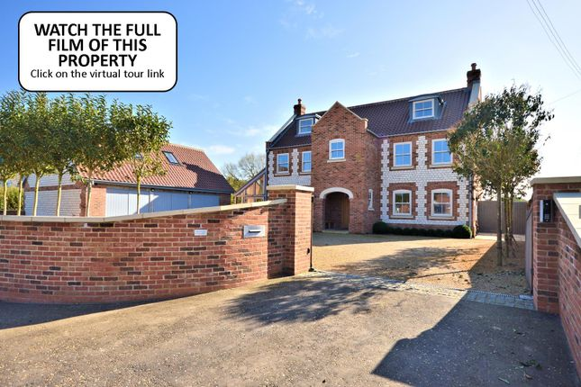 Thumbnail Detached house for sale in Main Road, Holme, Hunstanton