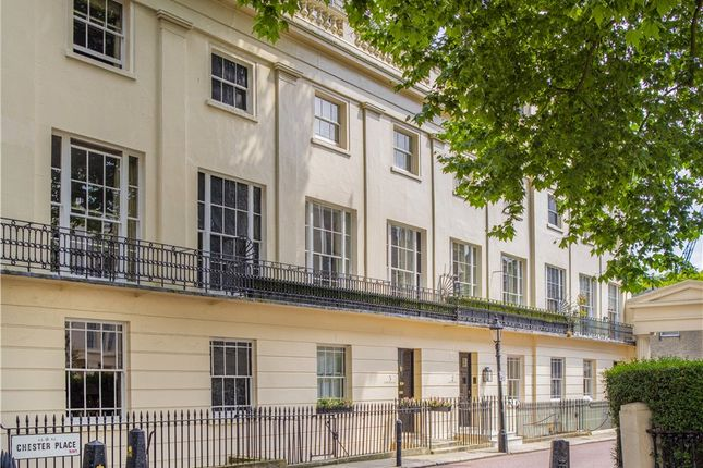 Thumbnail Terraced house for sale in Chester Place, Regent's Park, London