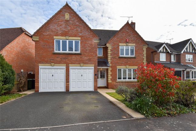 Thumbnail Detached house for sale in Defford Close Webheath, Redditch, Worcestershire