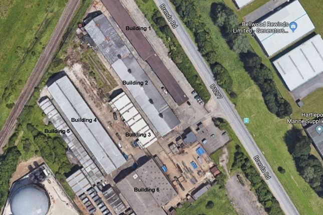Thumbnail Industrial to let in Hartlepool