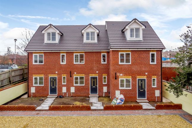 Thumbnail End terrace house for sale in Newstead Court, Newtown Road, Hereford