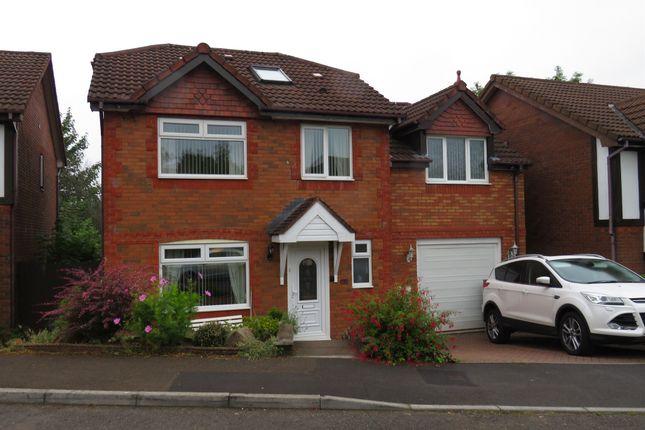 Thumbnail Detached house for sale in Parc Plas, Blackwood