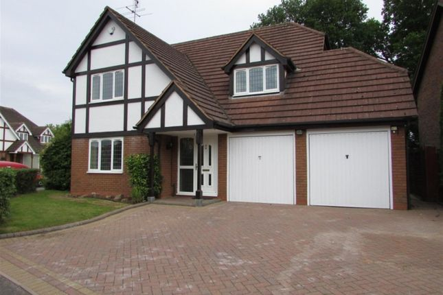 Thumbnail Detached house to rent in Manor Road, Dorridge, Solihull