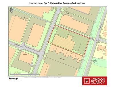 Site Plan, Linmar House