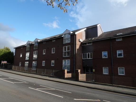 Front of Uxbridge Court, Holyhead Road, Bangor, Gwynedd LL57
