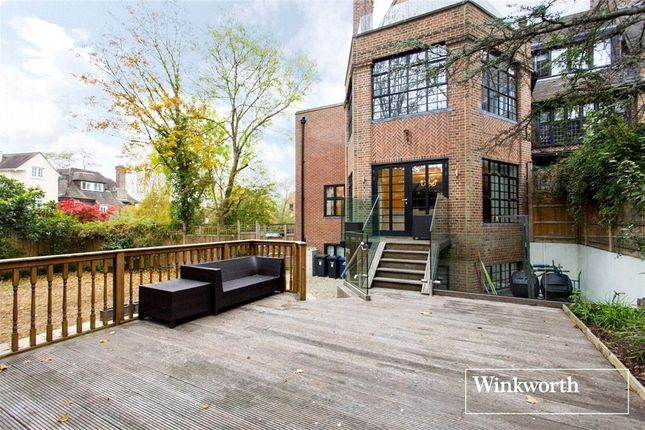 Thumbnail End terrace house to rent in Willow House, 4 Wellgarth Road, London