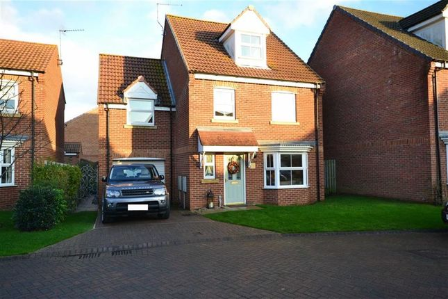 Thumbnail Detached house for sale in Cygnet Close, Hornsea, East Yorkshire