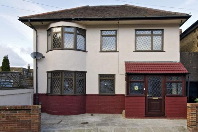 Thumbnail End terrace house to rent in Dundee Road, London