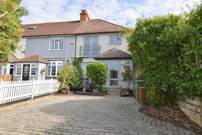 Thumbnail End terrace house for sale in Walton Lane, Shepperton