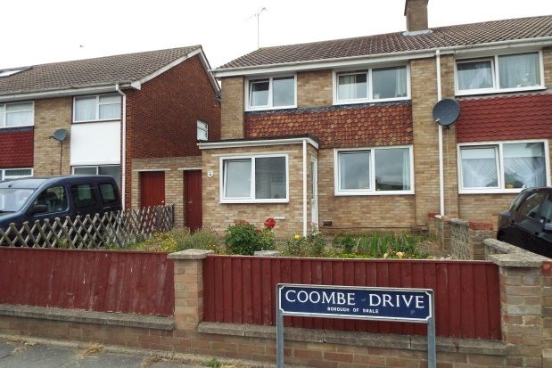 Thumbnail Semi-detached house to rent in Coombe Drive, Sittingbourne