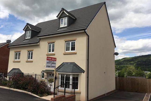 Thumbnail Semi-detached house for sale in Mametz Grove, Gilwern, Abergavenny, Sir Fynwy