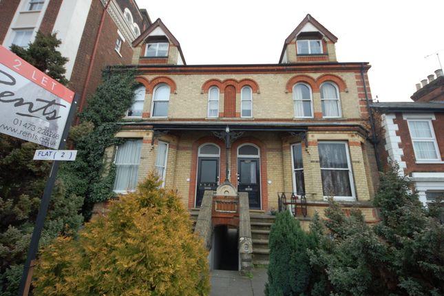 Thumbnail Flat to rent in Rosewarne Villas, 86 Berners Street, Ipswich, Suffolk