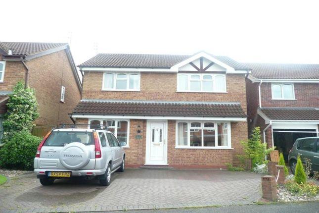 Thumbnail Detached house to rent in Oatlands Way, Perton, Wolverhampton
