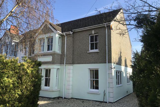 Thumbnail Semi-detached house for sale in Enborne Road, Newbury