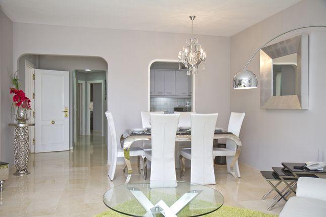 Dining Area of Mijas Costa, Costa Del Sol, Andalusia, Spain