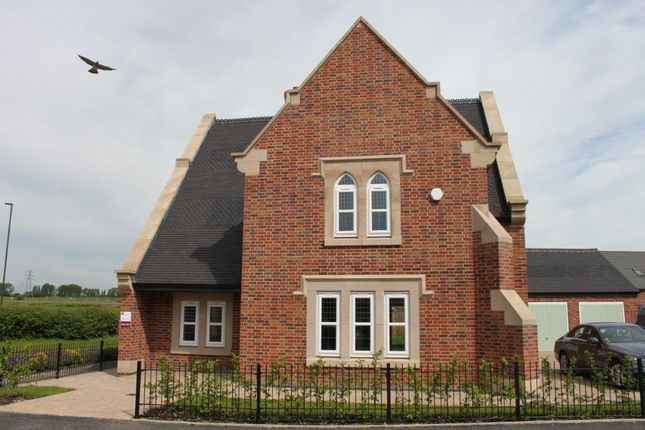 Thumbnail Detached house for sale in James Clarke Road, Willington, Derbyshire