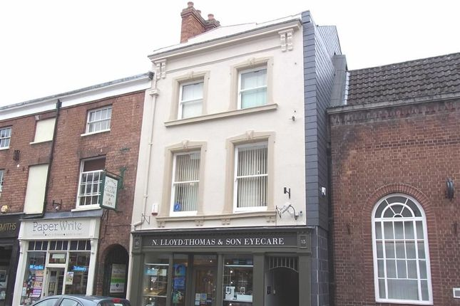 Thumbnail Flat to rent in 15A, Church Street, Oswestry, Shropshire
