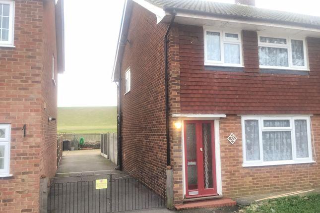 Thumbnail Semi-detached house to rent in Laburnham Grove, Langley, Berkshire