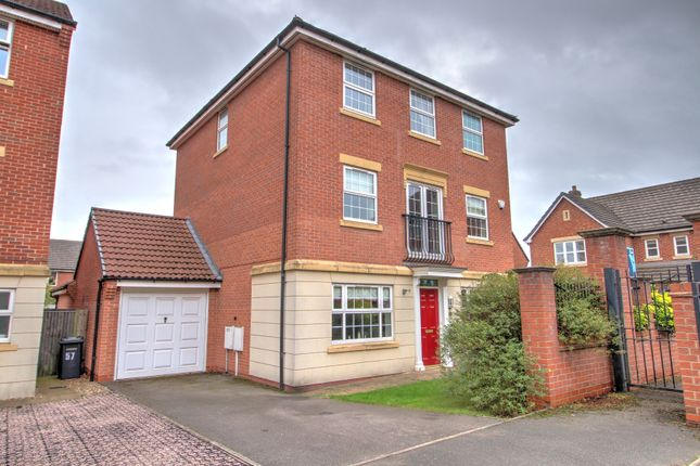 Thumbnail Detached house for sale in Crystal Close, Mickleover, Derby