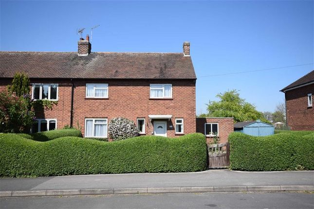 Thumbnail Semi-detached house for sale in Vicarage Road, Southwell, Nottinghamshire