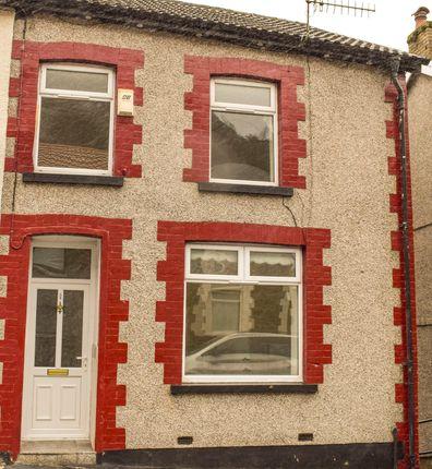 Thumbnail End terrace house for sale in Deri Terrace, Pontygwaith