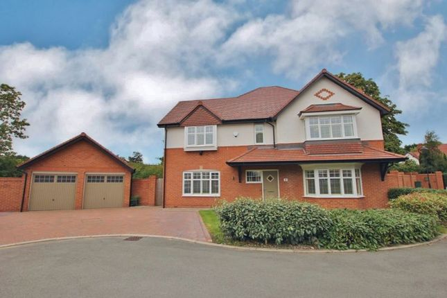 Thumbnail Detached house for sale in Westmount Place, Vyner Road South, Prenton, Wirral