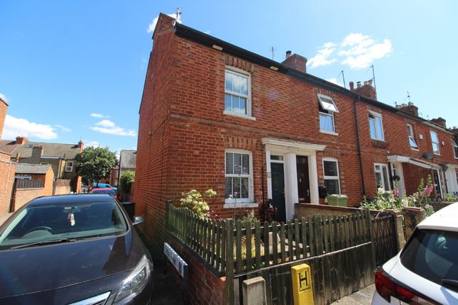 Thumbnail End terrace house to rent in Beaconsfield Place, Newport Pagnell