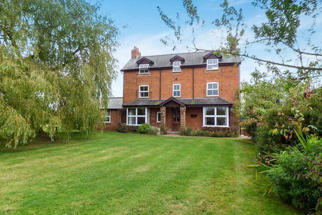 Thumbnail Detached house for sale in Paunt House, Castle Trump, Newent, Gloucestershire