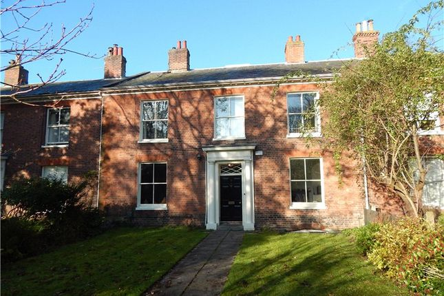 Thumbnail Terraced house for sale in The Crescent, Chapelfield Road, Norwich, Norfolk