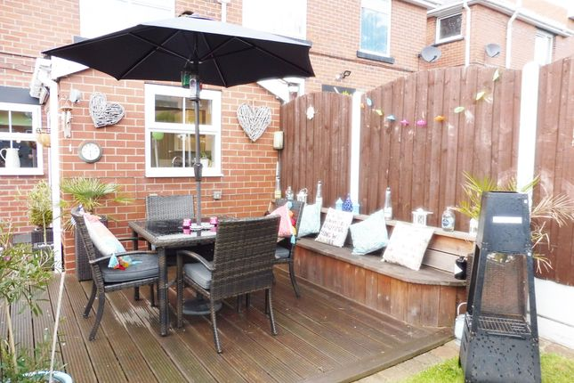 Decking Area of Princess Street, Mapplewell S75