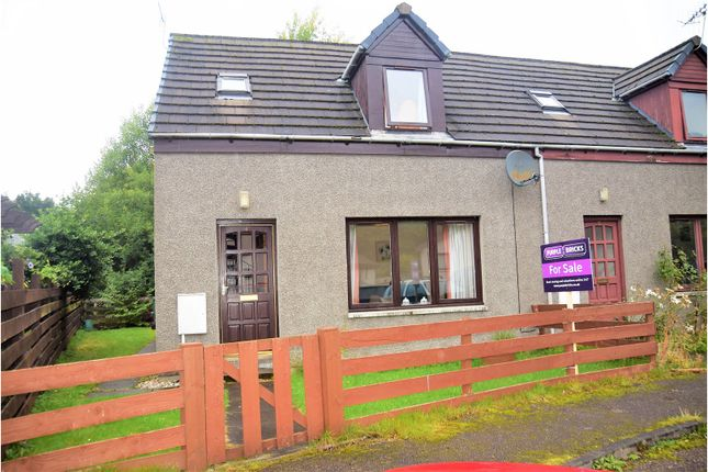 Thumbnail Semi-detached house for sale in Manse Road, Kingussie