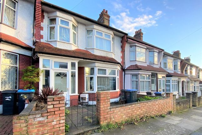 Terraced house for sale in Belmont Avenue, Palmers Green
