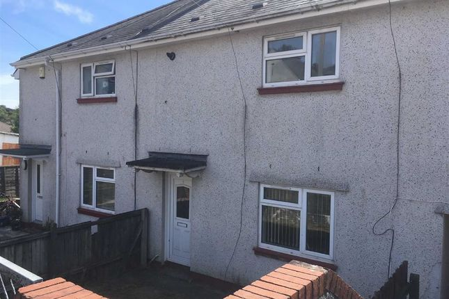 Thumbnail Terraced house for sale in Maes Y Onnen, Cwmrhydyceirw, Swansea