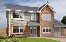 Thumbnail Detached house to rent in Royal Park, Ramsey, Isle Of Man