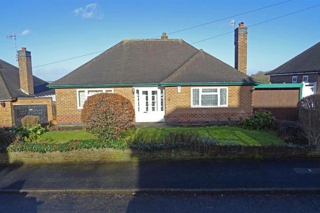 Thumbnail Detached bungalow for sale in Cresta Gardens, Sherwood, Nottingham
