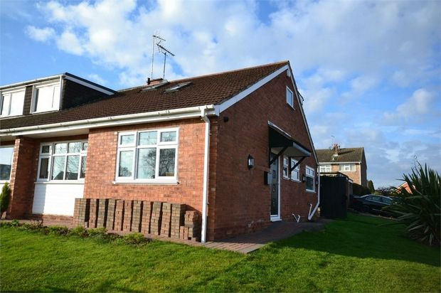 Thumbnail Semi-detached bungalow for sale in Peveril Drive, Styvechale Grange, Coventry, West Midlands