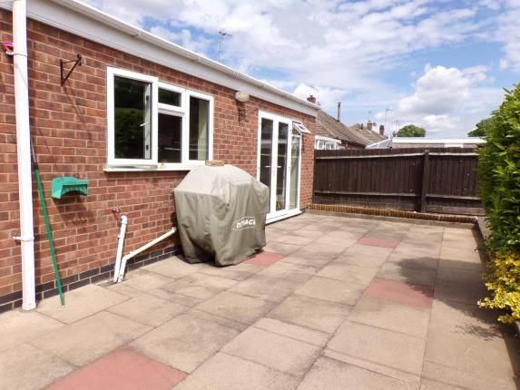 Garden of College Road, Syston, Leicester, Leicestershire LE7