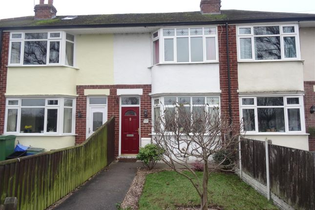 Thumbnail Terraced house to rent in Coniston Road, Shrewsbury