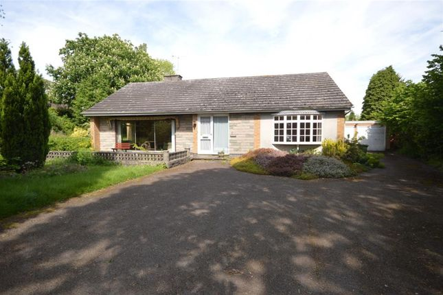 Thumbnail Bungalow for sale in Moores Lane, Enderby, Leicester