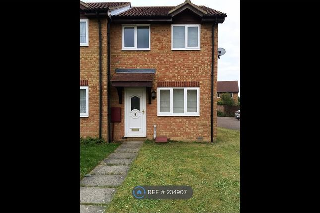 Thumbnail End terrace house to rent in Stockley Close, Suffolk