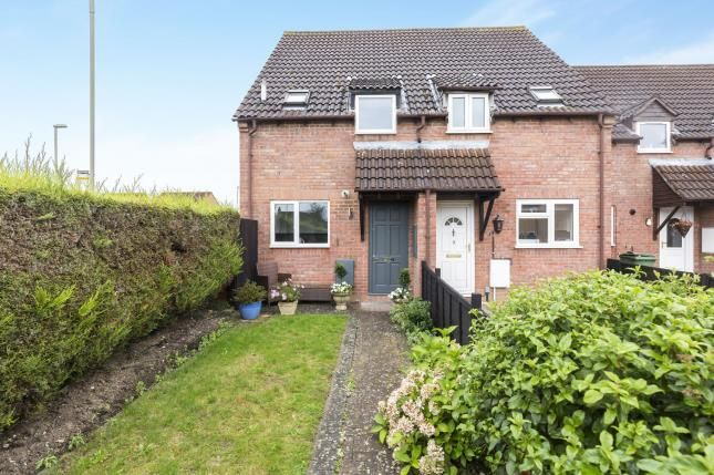 Thumbnail End Terrace House For Sale In Deerhurst Place Quedgeley Gloucester Gloucestershire
