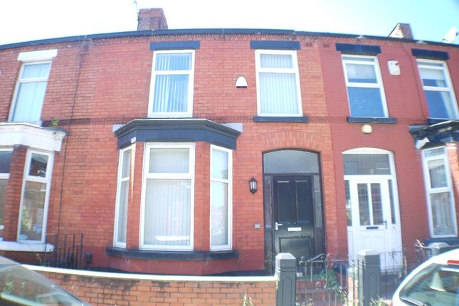 Thumbnail Terraced house to rent in Crawford Avenue, Liverpool