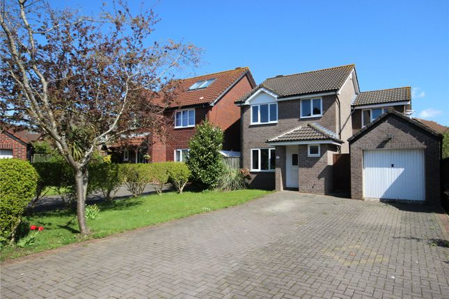 Thumbnail Detached house for sale in Badgers Close, Bradley Stoke, Bristol