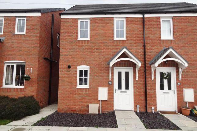 Thumbnail Semi-detached house to rent in Rondel Street, Shrewsbury