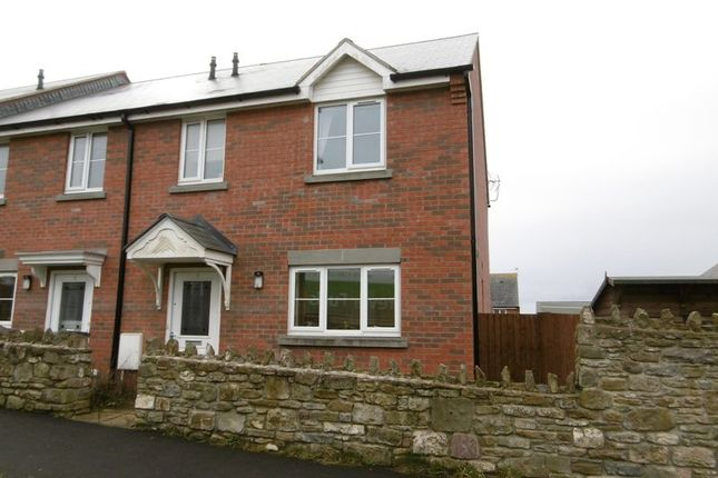 Thumbnail Semi-detached house to rent in Cyril Hart Way, Mile End, Coleford