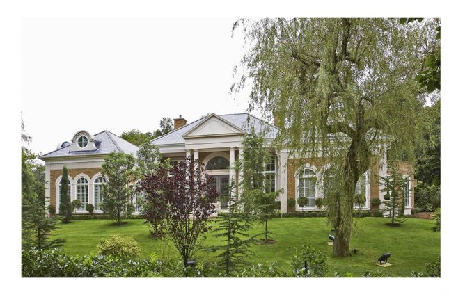 Thumbnail Detached house for sale in Rodona Road, St. Georges Hill, Weybridge