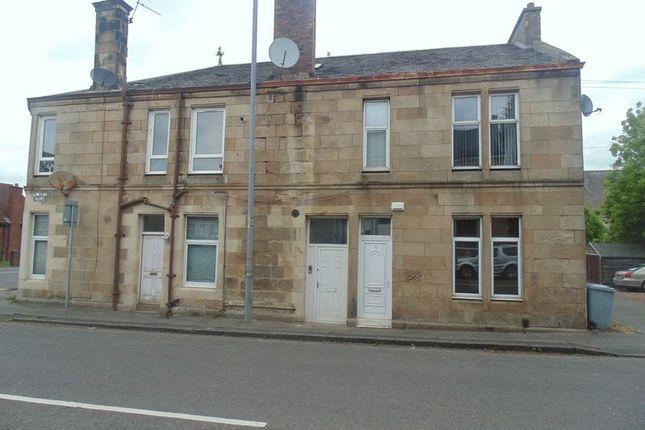 Thumbnail Flat for sale in Woodside Street, New Stevenston, Motherwell