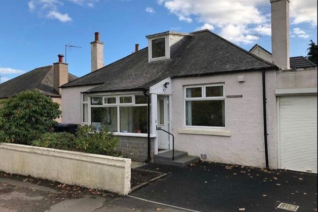 Thumbnail Bungalow for sale in School Road, Port Elphinstone, Inverurie