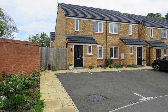 Thumbnail Semi-detached house for sale in Centenary Way, Raunds, Wellingborough