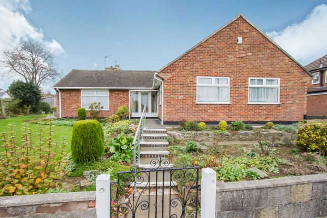 Thumbnail Detached bungalow for sale in Fulbeck Avenue, Leicester